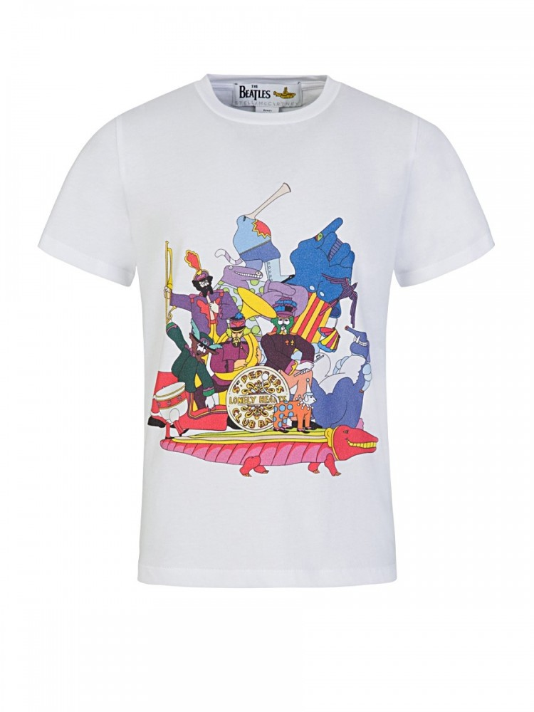 Stella McCartney Kids White All Together Now T-Shirt