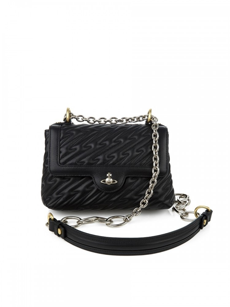 Vivienne Westwood Black Coventry Medium Handbag