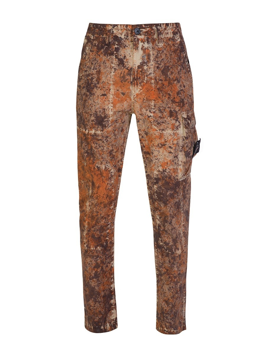 Stone Island Brown Paintball Camouflage Capsule Trousers