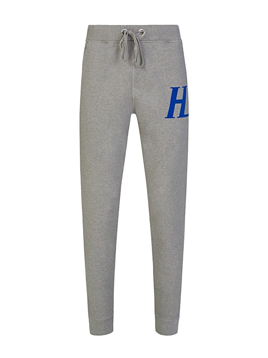Helmut Lang Grey Monogram Sweatpants