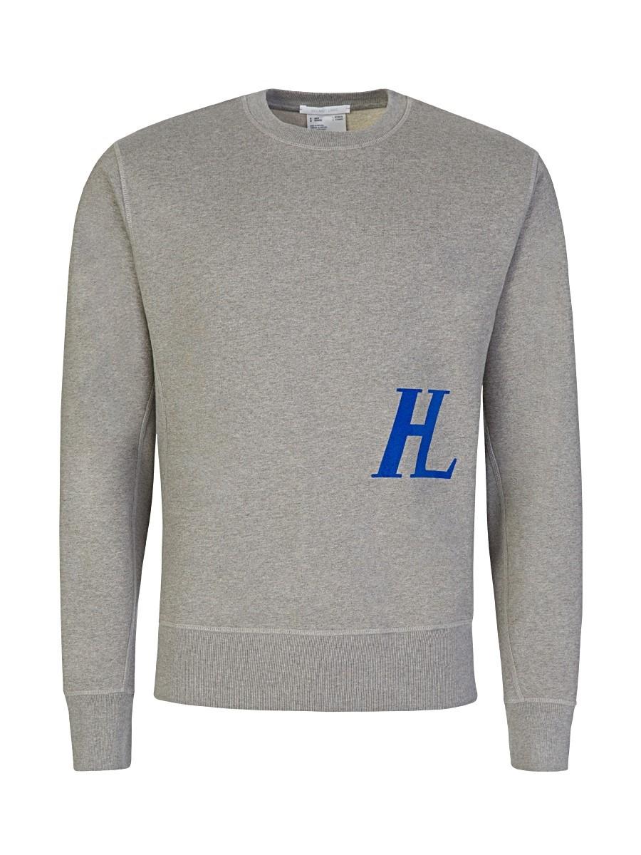 Helmut Lang Grey Monogram Sweatshirt