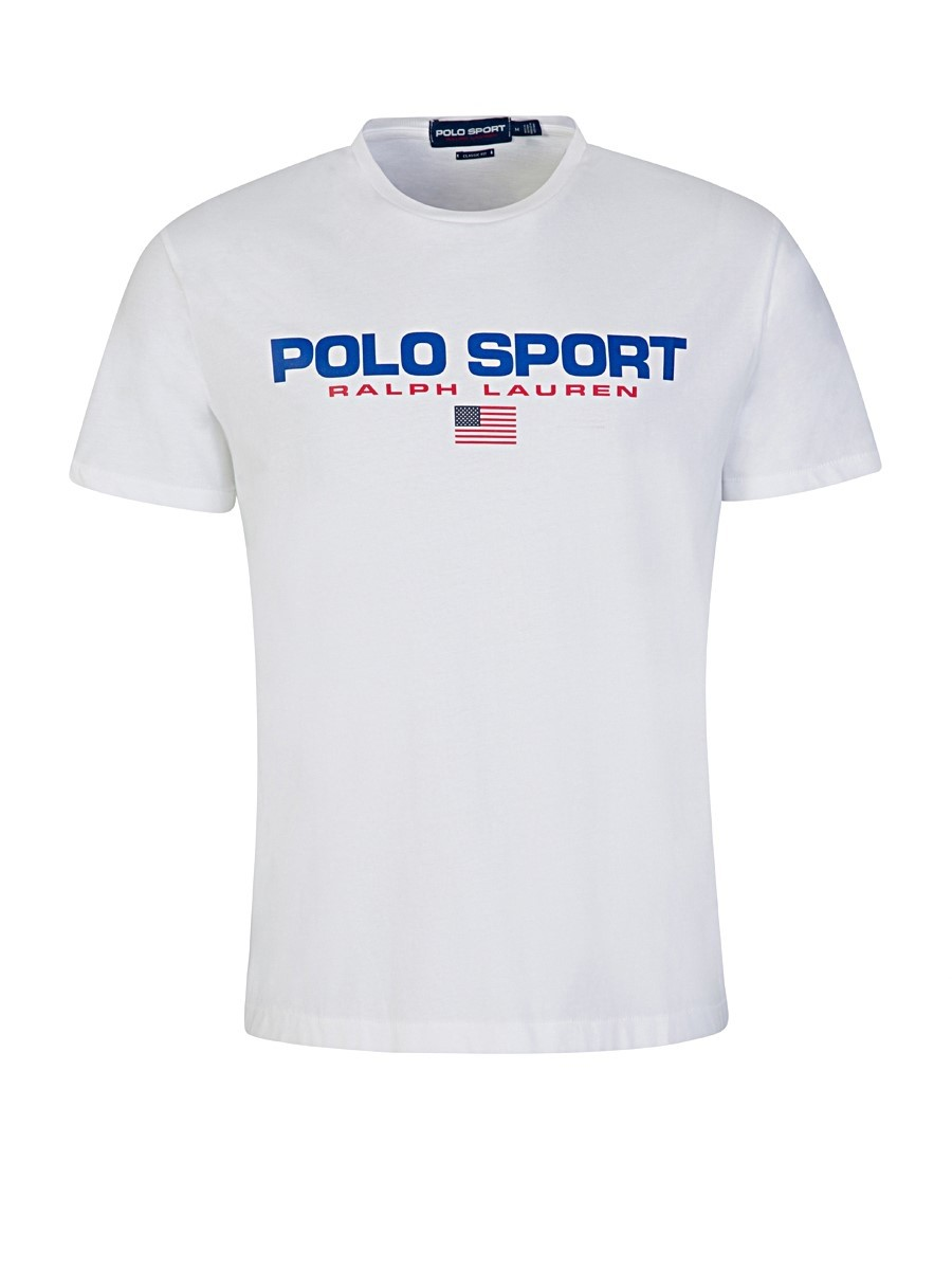 Polo Ralph Lauren White Sport T-Shirt