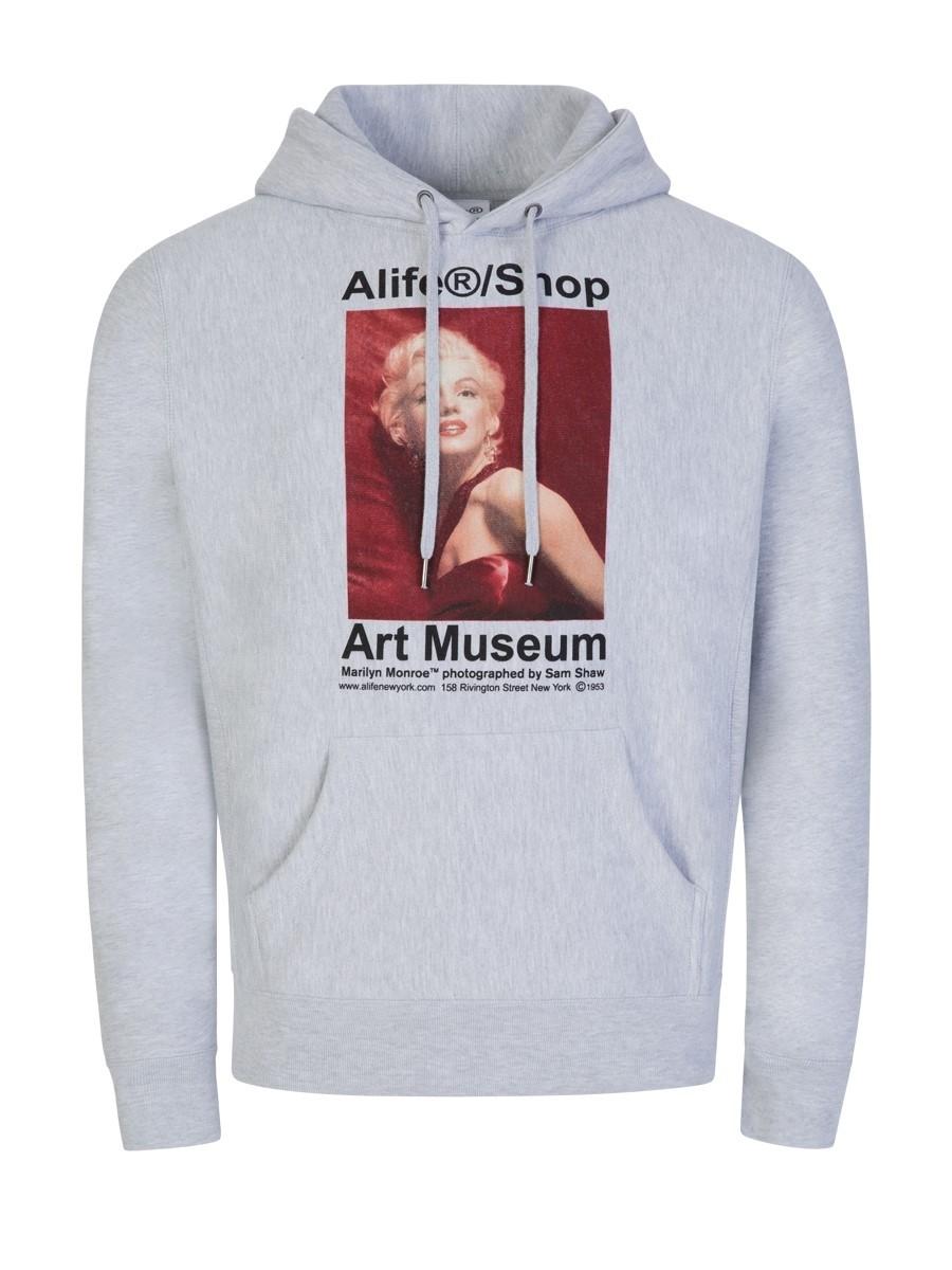 Alife Grey Marilyn Monroe/Sam Shaw Hoodie