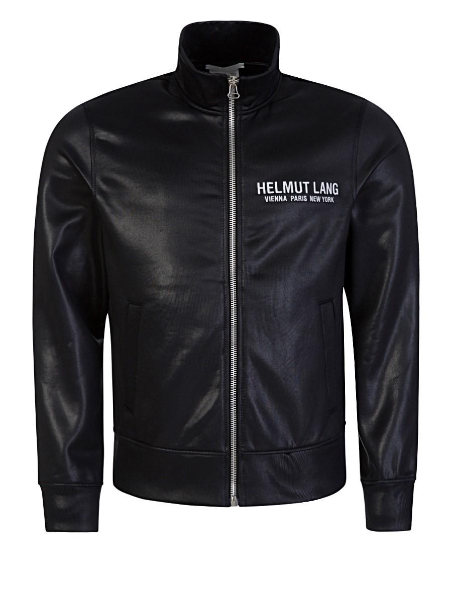Helmut Lang Black Sash Polish Track Jacket