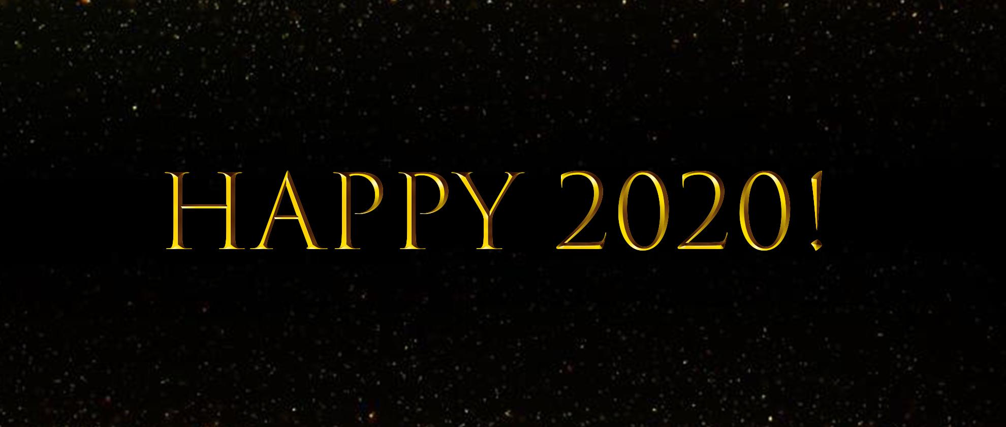 Hello, 2020!