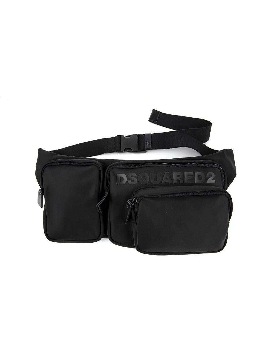 Dsquared2 Black Belt Bag
